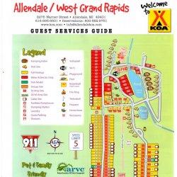 Allendale / West Grand Rapids KOA - Allendale, MI - KOA