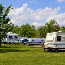 Dubois/ Treasure Lake KOA at Cayman Landing Campground - Du Bois, PA - KOA