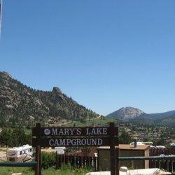 Estes Park Campground at Mary's Lake  - Estes Park, CO - RV Parks