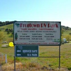 Frogtown Rv Park Amp Calaveras Angels Camp Ca County