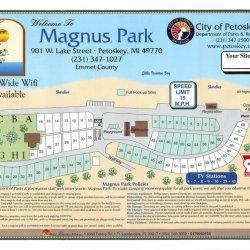Magnus Park - Petoskey, MI - RV Parks