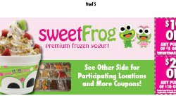 Sweet Frog - Corporate* - Charles Town, WV - Restaurants