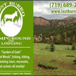 Lost Burro Campground - Cripple Creek, CO - RV Parks