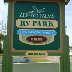 Zephyr Palms RV Park - Zephyrhills, FL - RV Parks