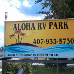 Aloha RV Park - Kissimmee, FL - RV Parks