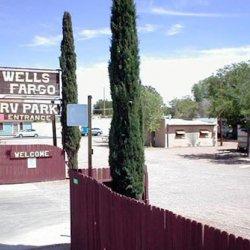 Wells Fargo RV Park - Tombstone, AZ - RV Parks