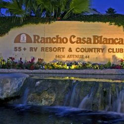 Rancho Casa Blanca Resort - Indio, CA - RV Parks