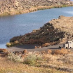 Corral Lake - Othello, WA - Free Camping
