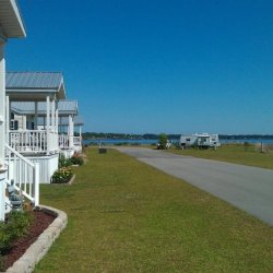 White Oak Shores Camping & RV Resort - Stella, NC - RV Parks