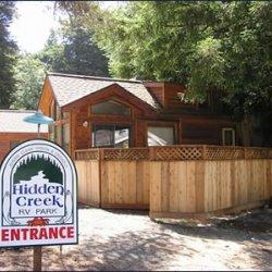 Hidden Creek R V Park - Trinidad, CA - RV Parks