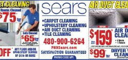 Sears Carpet Cleaning  - Phoenix - Phoenix, AZ - MISC