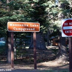 Manzinita Lake Campground Lassen Volcanic National Park - Mineral, CA - National Parks