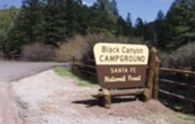Black Canyon Campround Santa Fe National Forest