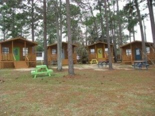 Sunset KIng Cabins and RV Sites 10% off - DeFuniak, FL